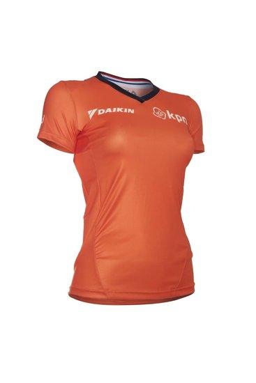 Fila KNSB Sport Shirt SS - dames - oranje