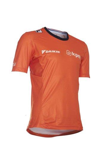 Fila KNSB Sport Shirt SS - heren - oranje